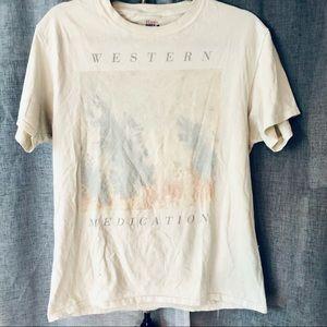 Vintage Western Medication Band T-shirt